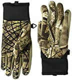 Huntworth Youth Tech Shooters Glove, Hidden, Small/Medium