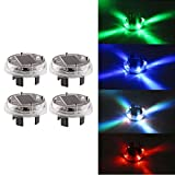 Kyпить SUNREEK™4 Color Modes 12V LED Solar Power Flashing Tire Light Wheel Light Lamp for Car Motorcycles Bicycles (4 Pcs) на Amazon.com