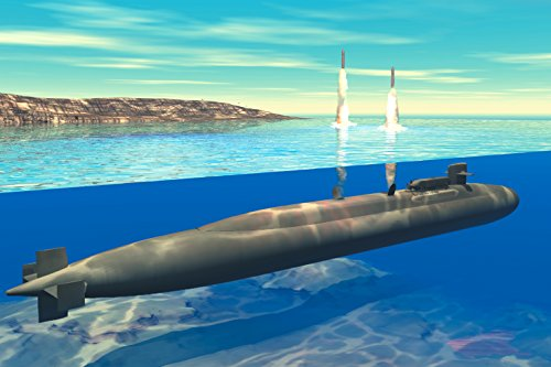 Home Comforts Laminated Poster Ohio-Class Submarine launches Tomahawk Cruise Missiles (Artist Concept) Original Image Caption: 0306 Vivid Imagery Poster Print 24 x 36 ()