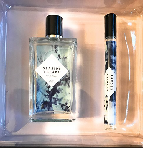 Tru Fragrance Seaside Escape 2Pc Eau De Parfum Set 3.4 Oz Spray and .5 Oz Purse (Escape Parfum)