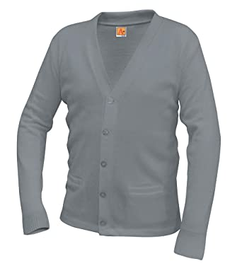 f49dd0e2e1 Image Unavailable. Image not available for. Color  A+ Youth   Adult School  Uniform V-neck Cardigan Sweater