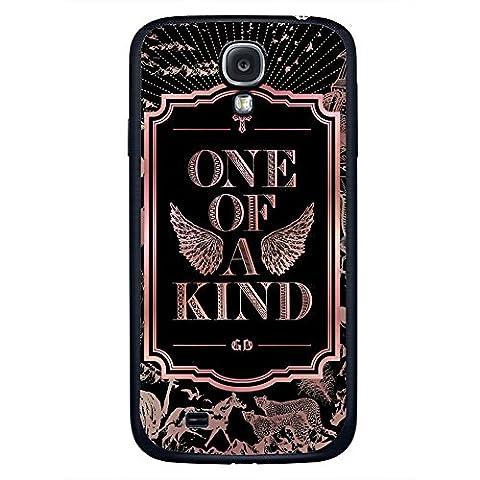 Kpop G-Dragon BIGBANG One of a Kind Album for Samsung Galaxy S4 Black case (Samsung Galaxy S4 Cases Kpop)