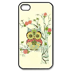 Vintage Owl Hard Case Cover Skin for iphone 4 4s, Retro Owl Hard Case Cover Skin for iphone 4 4s