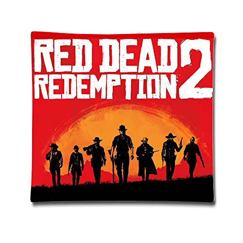 DEMOO Red Dead Redemption POSTER Pillow Case Cushion Cover (18