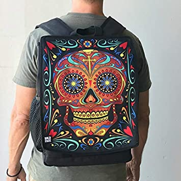 BOLDFACE Skull Backpack Day of the Dead
