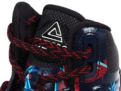 Peak–TP 3Tony Parker–Zapatillas Basket Blue / Red