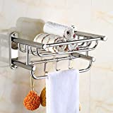 JIAHE115 Free-Standing Towel Rack Towel Rack 304