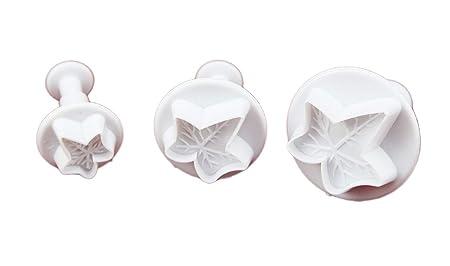 Veined Ivy 3 pc Plunger Cutter Set