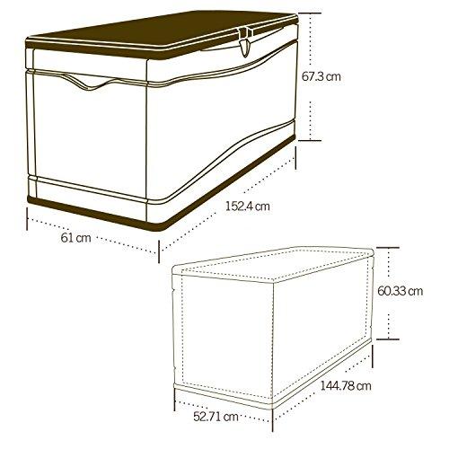 081483002637 - Lifetime 60012 Extra Large Deck Box carousel main 7