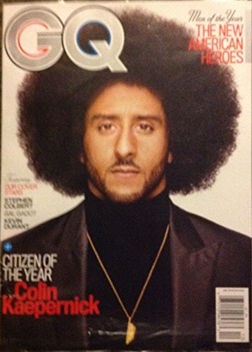 443c5fa3d GQ Magazine (December, 2017) Men of The Year Issue Colin Kaepernick Cover