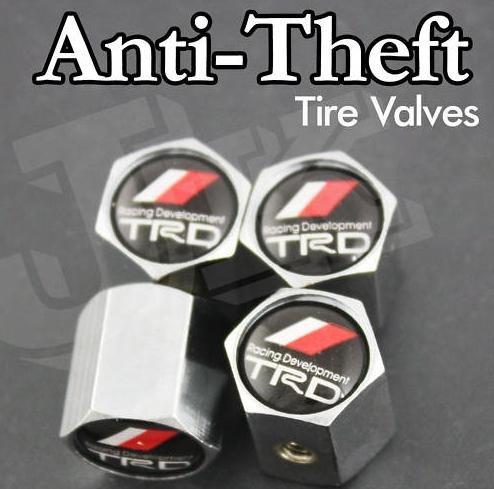 TRD Anti-Theft Tire Valve Caps ()