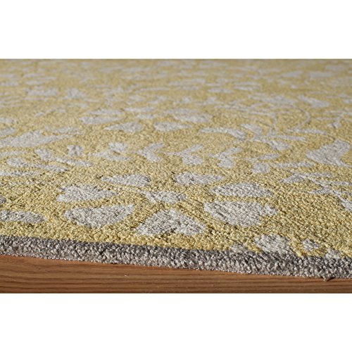 Momeni Rugs HAVANHV-10YEL7999 Havana Collection Hand Tufted Contemporary Area Rug, 7'9