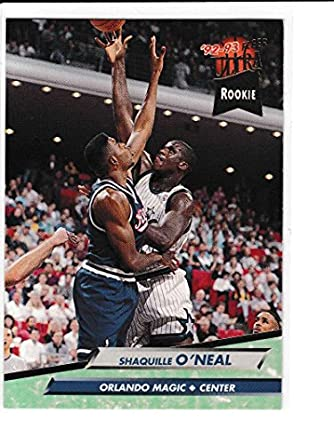 Amazon 1992 93 Fleer Ultra RC Shaquille ONeal Orlando Magic LSU Tigers 3 Collectibles Fine Art
