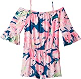 Lilly Pulitzer Kids Baby Girl's Mini Calla Romper (Toddler/Little Kids/Big Kids) Tidal Wave Pans Garden X-Small