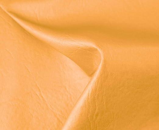 1 Metro de Polipiel para tapizar, Manualidades, Cojines o forrar Objetos. Venta de Polipiel por Metros. Diseño Sugan Color Camel Ancho 140cm