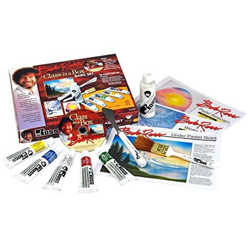 Weber Bob Ross Class in A Box Basic Set with 90 Minute DVD, Multi-Colour