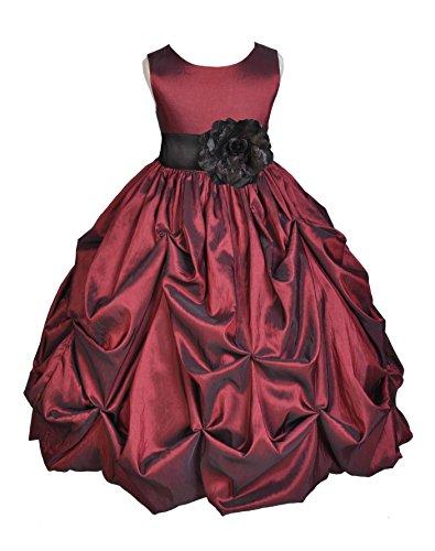 Satin Taffeta Wedding Dress - 1