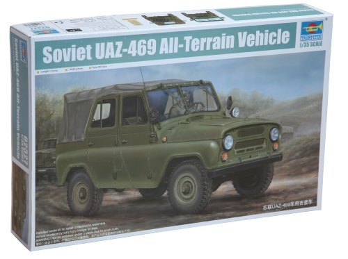 Trumpeter Soviet UAZ469 All-Terrain Vehicle (1/35 Scale) for sale  Delivered anywhere in USA