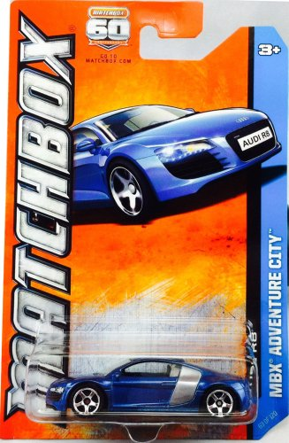 2013 Matchbox MBX Adventure City - Audi R8