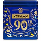 Twinings Her Majesty Queen's 90th Birthday Celebration Limited Edition Collector's Tea Tin, Black Tea Blend, 100g