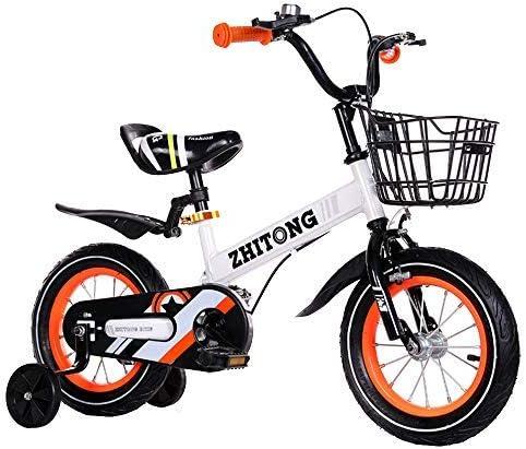 YSA キッズバイク12/14/16/18インチ子供の自転車自転車に乗ることを学ぶ男の子と女の子の自転車2-10歳の鐘付き自転車