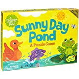 Peaceable Kingdom Sunny Day Pond Award Winning Cooperative Game for Kids