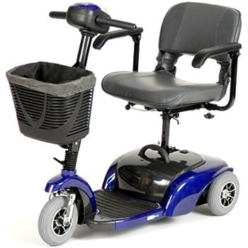 Spitfire Travel 3-Wheel Power Scooter, Blue