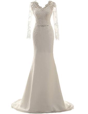Brautmode v ausschnitt