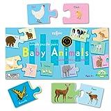 : Eeboo Baby Animals Puzzle Pairs