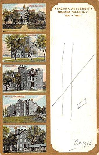 Niagara Falls New York University Historic Bldgs Antique Postcard (Bldg University)