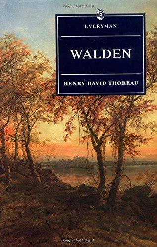 Walden With Ralph Waldo Emerson's Essay on Thoreau (Everyman's Library) (David Emerson compare prices)
