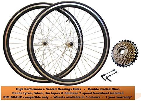 Juego de ruedas delanteras y traseras para bicicleta de carretera ...
