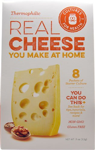 Cultures For Health Real Cheese Starter Culture Thermophilic -- 8 Packets