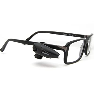 Rechargeable Book Light for Glasses | Led Reading Light | Clip On Design Made in Germany | Complimentary Protective Case Included