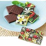 トロピカルフラワー (ティアレフラワー) チョコレート 1箱【タヒチ 海外土産 輸入食品 スイーツ】