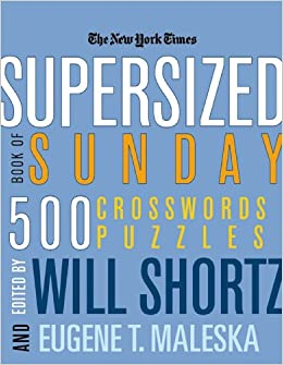 graphic regarding Printable La Times Crossword named The Contemporary York Situations Supersized Ebook of Sunday Crosswords: 500