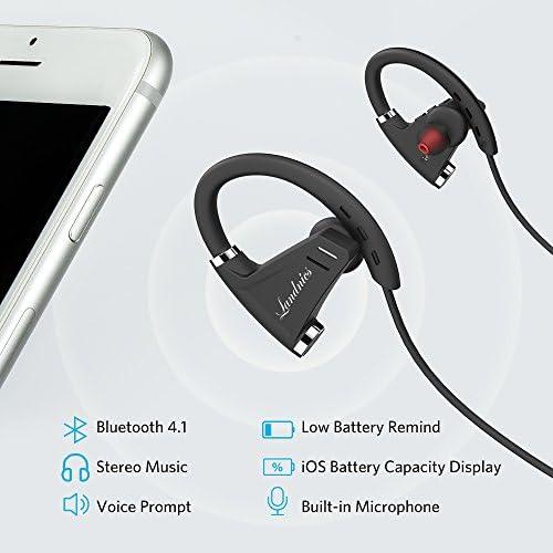 Auriculares Bluetooth 4.1 Impermeable IPX7, Deportivos Inálambrico ...
