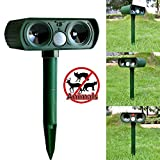 Best Solar Ultrasonic Pest Repellers - Colour-Store Ultrasonic Dog Cat Repeller Solar Outdoor Animal Review