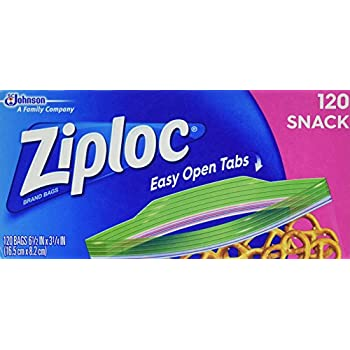 Ziploc 340 Storage Bags - Limited Edition Variety Pack (240 Snack, 100 Quart)
