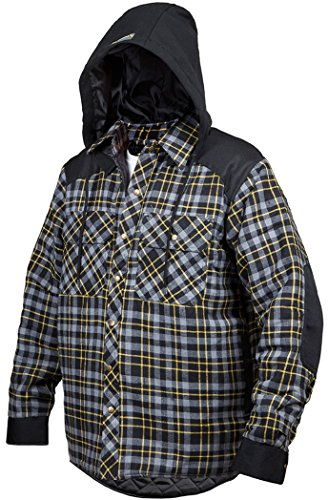 Terra Blast 10-1203-CGRNXL Quilted and Lined Lumberjack F...