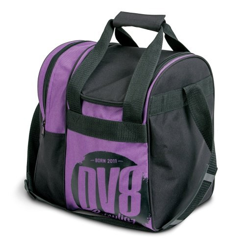 DV8 Tactic Single Tote Bowling Bag, Purple