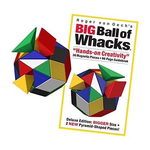 Creative Whack Company Roger von Oech's Big Ball of Whacks, Multi-Colored ()