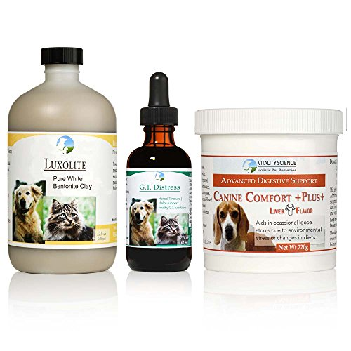 TRDV Protocol for Dogs - 3 Part Program for Digestive Health and Stability (Beef, Large) by Vitality Science