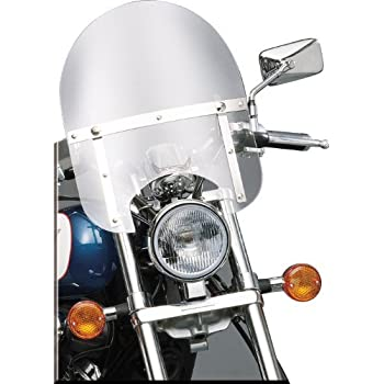 Slipstreamer HD-0-C Motorcycle Windshield Clear