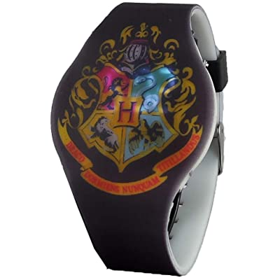 Harry Potter Hogwarts Crest LED Watch: Toys & Games