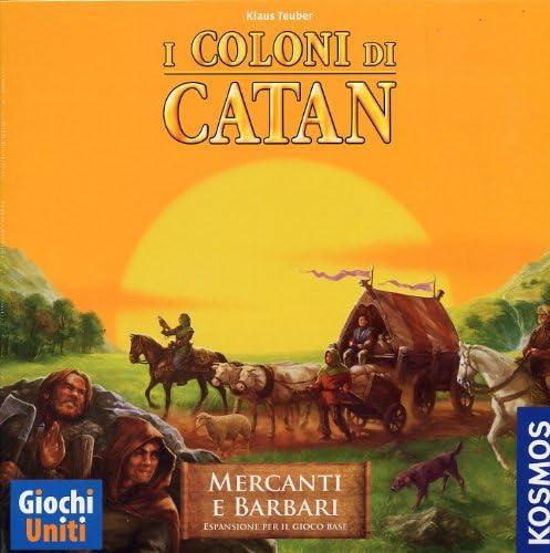 Giochi Uniti I Coloni di Catan: Mercanti e Barbari - Juego de Mesa (versión en Italiano) [Importado de Italia]: AA.VV.: Amazon.es: Juguetes y juegos