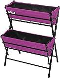 Cheap Vegtrug POP2WL303P USA Poppy 2 Tier Ladder, Purple
