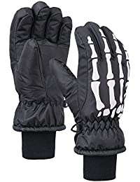 Thinsulate Cotton Kids Windproof Waterproof Snow Ski Gloves