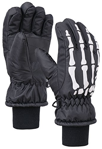 Lullaby Kids Thinsulate Cotton Kid's Windproof Waterproof Snow Ski Gloves