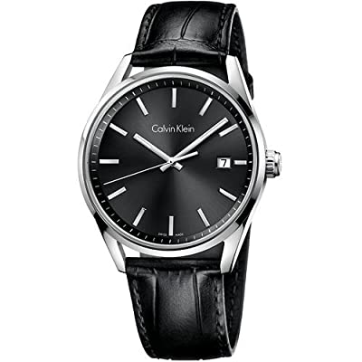 Calvin Klein K4M211C3 Mens Formality Grey Black Watch